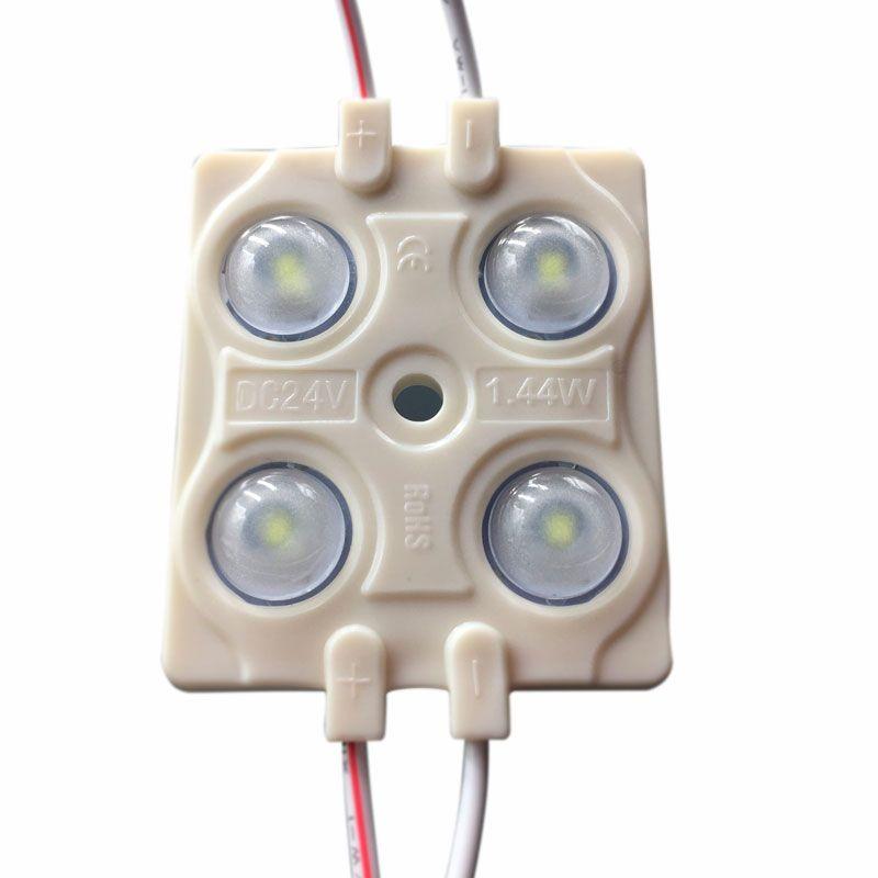 modulo led 4 diodos apertura 160 grados a 24v