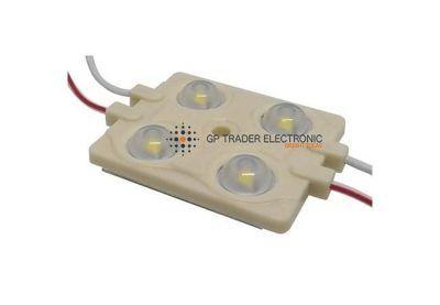 Módulo LED 2835 4 diodos 160 grados