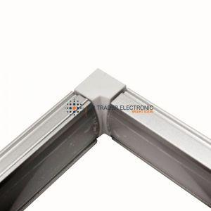 conector perimetral para perfil con tira de led