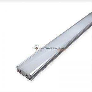 Perfil aluminio con tira de LED integrada