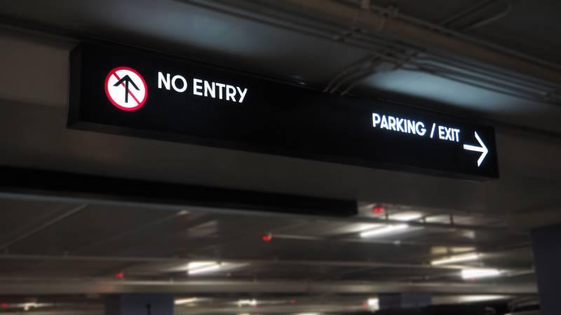 cartel led parking
